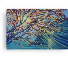 Transformation 2014 - oil on canvas Canvas Print