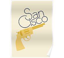 Golden Revolver Poster