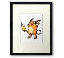 Pokemon - Raichu Sprite Framed Print