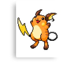 Pokemon - Raichu Sprite Canvas Print