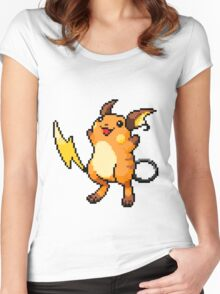 Pokemon - Raichu Sprite Women's Fitted Scoop T-Shirt