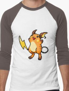 Pokemon - Raichu Sprite Men's Baseball ¾ T-Shirt