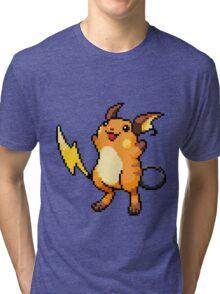 Pokemon - Raichu Sprite Tri-blend T-Shirt