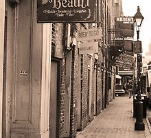 New Orleans - Bourbon Street by Frank Romeo