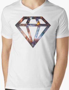 Cosmic Diamond Mens V-Neck T-Shirt