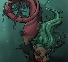 Gunmetal Mermaid by SavannahSparrow