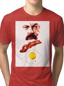 Ron Bacon Eggs Tri-blend T-Shirt