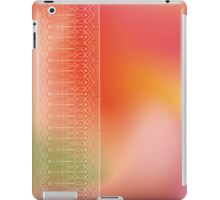 Bright design with ethnic doodle ornate border iPad Case/Skin