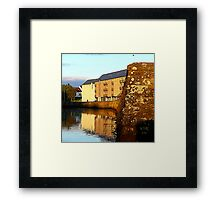 An Irish Quay Framed Print