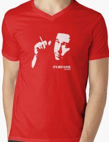 Bill Hicks It's Just A Ride T-shirt Mens V-Neck T-Shirt