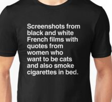 Screenshots and Quotes Unisex T-Shirt