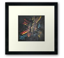 Into the Fire of Mind by Bill Bryant Framed Print