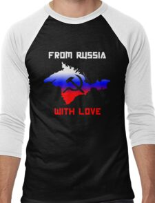 From Russia With Love Men's Baseball ¾ T-Shirt