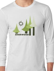 Wyld Sherwood Forest t-shirt (in leaf) Long Sleeve T-Shirt