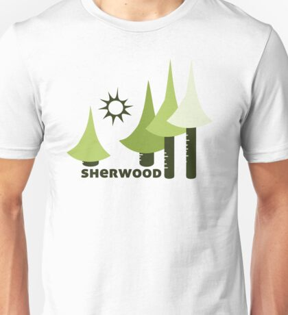 Wyld Sherwood Forest t-shirt (in leaf) Unisex T-Shirt