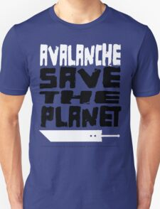 AVALANCHE! Save the Planet! T-Shirt