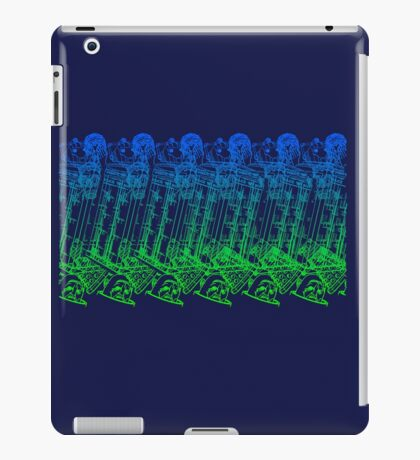 Stereographic who iPad Case/Skin