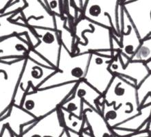 ManyFaces Sticker