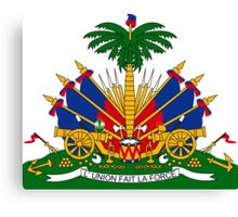 Coat of Arms of Haiti  Canvas Print