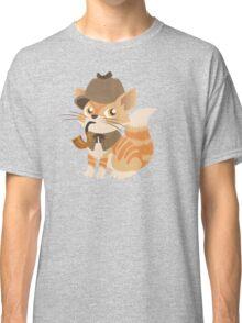 Cute Sherlock Holmes Kitten Classic T-Shirt