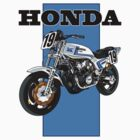 1980 Honda CB750F by Steve Harvey