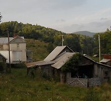 Farmstead From Behind by IveyRose