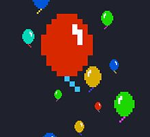 O..pixel Balloons..O, now for mobile. by Snaflein