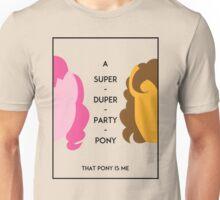 Super Duper Party Ponies Unisex T-Shirt