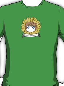 Frodosynthesis Sunflower Chibi T-Shirt