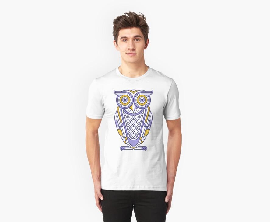 Art Deco Owl by qetza