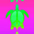 Peace Turtles by rachels1689