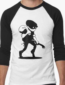 Burglar Men's Baseball ¾ T-Shirt