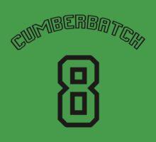 Cumberbatch 8 /black text/ Kids Clothes