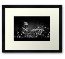 Dead - Coffin Nail Framed Print