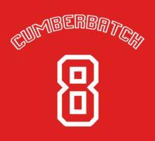 Cumberbatch 8 /white text/ One Piece - Short Sleeve
