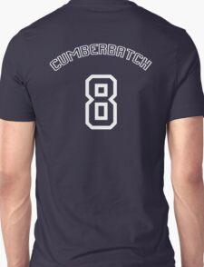 Cumberbatch 8 /white text/ Unisex T-Shirt