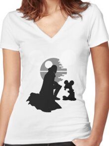 The New Emperor Women's Fitted V-Neck T-Shirt