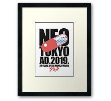 Neo-Tokyo (2.1) Framed Print
