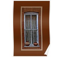 """Window Dressing"" Poster"