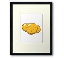 Vegetables potatoes nature garden Framed Print