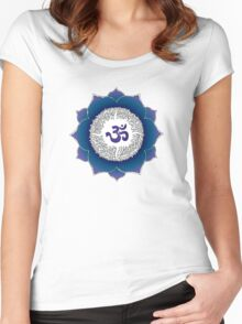 Aum 17 Women's Fitted Scoop T-Shirt