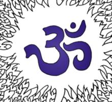 Aum 17 Sticker