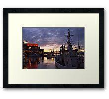 gothenburg sunset Framed Print