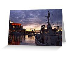 gothenburg sunset Greeting Card