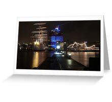 gothenburg harbour Greeting Card
