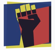 Black Power Fist by retrorebirth