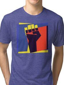 Black Power Fist Tri-blend T-Shirt
