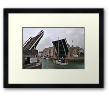 Raise That Bridge........... Framed Print