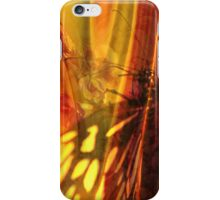 The beauty uncertain, behind its light curtain iPhone Case/Skin