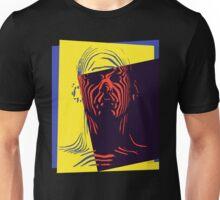 Pop Art Outline Man Unisex T-Shirt
